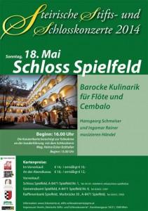 Konzerte auf dem Schloss Spielfeld